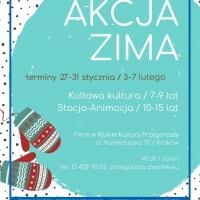 Klub Kultury Przegorzały – Akcja Zima 2020