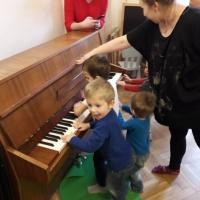Warsztaty Muzyczne dla dzieci w wieku 4-6 z opiekunami