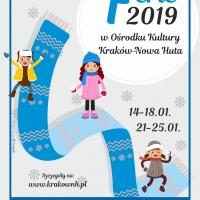 Ferie 2019 z Ośrodkiem Kultury Kraków-Nowa Huta