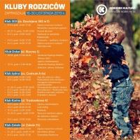 Kluby Rodziców w OK Kraków-Nowa Huta - 16-30.11.2019 r.