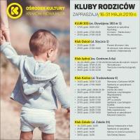 Klub Rodziców w Ośrodku Kultury Kraków-Nowa Huta - II połowa maja