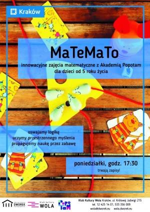 MaTeMaTo - innowacyjne zajęcia matematyczne!