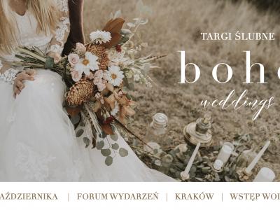 Targi ślubne BOHO WEDDINGS: 27.10.2019