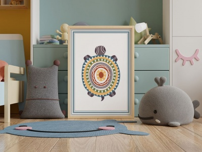 Plakaty dekoracyjne w pokoju dziecka