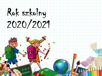 Rok szkolny 2020/2021 - harmonogram, terminy, dni wolne