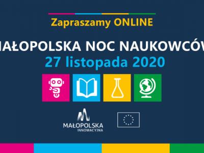 Przed nami 14. edycja Małopolskiej Nocy Naukowców!